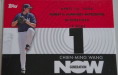 I will sell my 2007 Chien-Ming Wang Topps GN85 for $3.00  http://baseballcardstore.net
