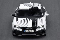 Audi a fait rouler sa RS7 autonome sur le circuit d'Hockenheim
