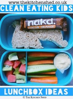 Clean Eating Kids Lunch Box Ideas #cleaneating #eatlean #healthy #lunch