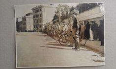 Ciclismo Foto CICLISTI FASCISMO schieramento Gara divise occhiali ROMA ? | eBay