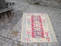 "50 % OFF! TURKISH KILIM RUG, 172 x 106 cm ( 67 "" x 41 "" )"