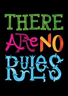 There are no Rules by Wharton