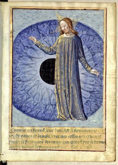 All seeing God of the Creation – Manuscript Art Medieval Manuscript, Illuminated Manuscript, Catholic Art, Religious Art, Christian Mysticism, Biblical Art, Book Of Hours, Bnf, Angel Art