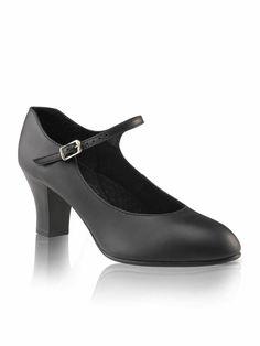 Adult Sizes NIB Jr Footlight Character Shoe Black
