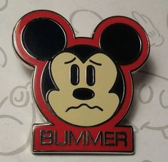 1 of 2: Mickey Mouse Expressions Bummer 2014 Mystery Collection Box Set Disney Pin Buy 2