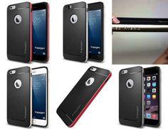 Case for iPhone 6 Plus (5.5), Spigen Neo Hybrid Metal Series Style