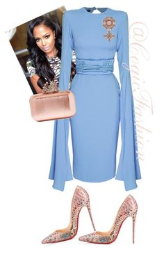 """""""Easter Sunday!!!"""" by cogic-fashion on Polyvore featuring Alex Perry, Christian Louboutin, Jimmy Choo and Gucci"""