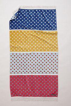 fd9aa96dc4fe dots, dots, dots beach towel Tybee Island Beach, Summer Parties, Home  Textile