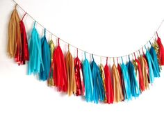 Wonder Woman Turquoise and Red Tassel Garland Superhero Baby Shower, Superhero Party, Baby Boy Shower, Baby Showers, Wonder Woman Birthday, Wonder Woman Party, Comic Book Wedding, Girl Scout Camping, Birthday Fun