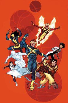 All New X-Men by Pasqual Ferry * - Art Vault