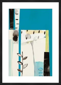 """"""" Overlapping Spaces, Blue II"""" by Magill-Oliver, Eva