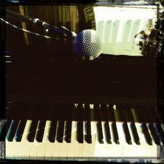 The piano. Jacksonville OR. June 15, 2012