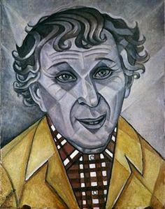 Portrait of Marc Chagall - Marevna (Marie Vorobieff)