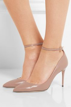 Jimmy Choo - Lucy Leather Pumps - Antique rose
