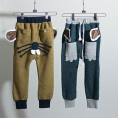 Mouse Pants - could do something like this with the Fancy Pants Leggings pattern
