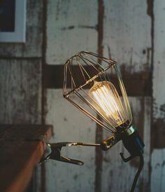 Telegram Paper Goods Single Miner's Lamp, CLIP