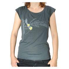 """T-Shirt """"losing control"""" (women yellow)"""