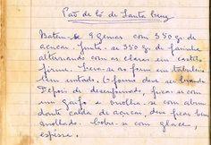 As Receitas da Avó Helena e da Avó Eduarda: Pão de Ló de Santa Cruz [da Trapa]