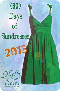 (30) Days of Sundresses Series - 30 tutorials to Sew a Sundress -
