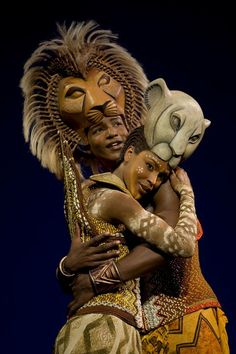 The Lion King - Clifton Oliver (Simba) and Kissy Simmons (Nala) Photo Credit: Joan Marcus - Would love to see this on Broadway.