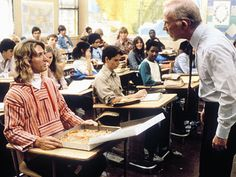 """Mr. Hand: """"Am I hallucinating here? Just what in the hell do you think you're doing?""""  Spicoli: """"Learning about Cuba and having some food.""""  Fast Times at Ridgemont High"""
