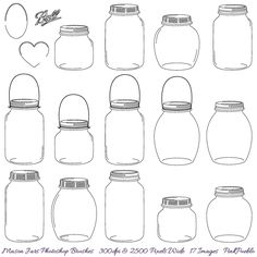 free template of a mason jar | jpg?1345137684