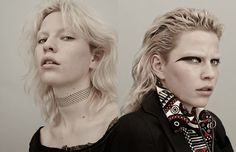 London's legacy is reinvented in this Schön! online editorial by photographer Robert Bellamy.