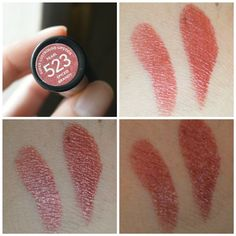#Revlon #SuperLustrous #Lipstick #SpicedBrandy #Review #price and details on the blog #swatch