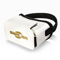 """Google Cardboard V2 SARLAR 2016 Newest Version 3D VR Headset DIY Glasses Virtual Reality BOX II Kit For All 4.7""""-5.5"""" Smartphones with IOS/Android for 3D Movies and Video Games"""