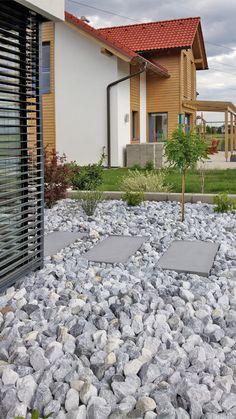 Terrasse / Garten – Seite 2 – WhiteCube – Wiener Neustadt Terras / tuin – Pagina 2 – WhiteCube – Wiener Neustadt Share your vote! Terrace Garden, Garden Paths, Patio, Backyard, Zen Garden Design, House Entrance, Pergola, Exterior, Outdoor Structures