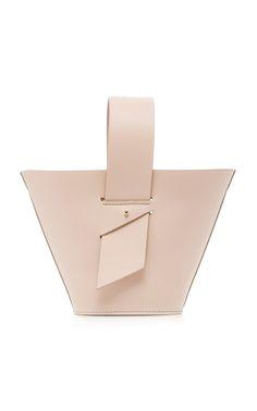 ef7bce9a3d Amphora Mini Leather Bag by CAROLINA SANTO DOMINGO for Preorder on Moda  Operandi Maroquinerie, Cuir
