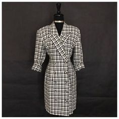 I just added this to my closet on Poshmark: LaBelle Brand Checkered Dress. Price: $25 Size: 11