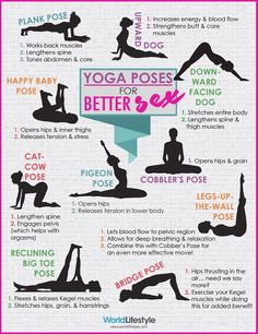 Infographic: Yoga Poses For Better Sex - DesignTAXI.com I'd settle for any sex