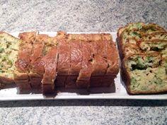 Recette Entrée : Cake au chèvre, saumon et brocolis par CuisineBlog