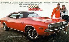 1970 Dodge Challenger R/T Hardtop