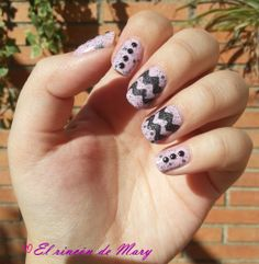 nail art con speckled 700