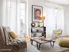 Petit loft à la parisienne - Le Journal de la Maison