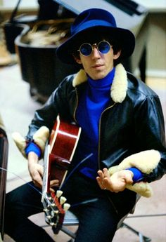 Keith at the RCA recording studios in Hollywood, December, 1965.  Via rollingstone.com