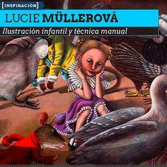 Ilustración infantil y técnica manual de LUCIE MÜLLEROVÁ  Dibujo y personajes infantiles en tempera desde Republica Checa.    Leer más: http://www.colectivobicicleta.com/2013/02/ilustracion-infantil-de-lucie-mullerova.html#ixzz2KzPVDYed