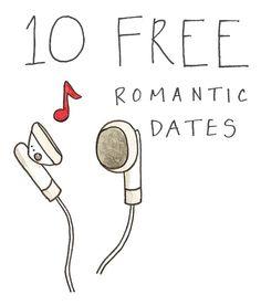 Ten Free Romantic Dates