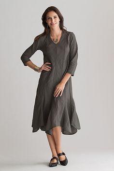 """Madison Linen Dress""   Linen Dress   by Cynthia Ashby   318 dollars"