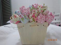 Doce Rafaela: Passo a Passo Tulipa de Tecido (Aniversário Rafaela)