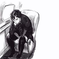 So sad #Sherlock #fanart