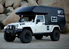 2013 Jeep Wrangler ActionCamper kit by Thaler Design - MSRP 2014 action camper RV kit price cost Jeep Wrangler 2013, Four Door Jeep Wrangler, Jeep Wrangler Camping, Jeep Camping, Wrangler Unlimited, 6x6 Truck, Jeep Truck, Truck Camper, Camper Van