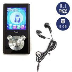 🎼 OSIO SRM-9080BS MP3 PLAYER 8GB 🎼  Όλη η βιβλιοθήκη των τραγουδιών σου, στην τσέπη σου! Το MP3 OSIO με χωρητικότητα 8GB και έγχρωμη οθόνη είναι το καλύτερο μουσικό Gadget που θα μπορούσες να έχεις! Επιπλέον, μπορείς να αποθηκεύσεις έως και 32 GB μουσικής, με την απλή προσθήκη μιας κάρτας micro SD!  Κάνε το δικό σου σε μια στιγμή, με ένα Click στο → http://bit.ly/osiomp3player8GB!