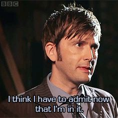 David Tennant on the 50th anniversary episode.