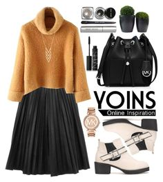 """Yoins"" by oshint ❤ liked on Polyvore featuring MICHAEL Michael Kors, NARS Cosmetics, Bobbi Brown Cosmetics, Michael Kors, Gorjana and yoins"
