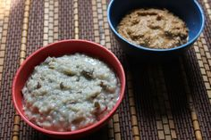 This is one of my favorite combo meals. Amma makes this thogayal whenever she makes this kanji. The spicyness, nuttyness and tangyness go well with the plain little sweeter tasting kanji. I have already posted a combo kanji recipe, check out this milk kanji with green gram thoran. Porridge are very healthy for you, since...Read More
