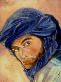 Bedouin. Oil on canvas. Lynn Ruther