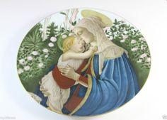 MADONNA & CHILD by BOTTICELLI 1976 Haviland LIMOGES FRANCE # 3946/7000